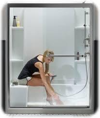 shower tub and showerrs wonderful images designr manufacturers glass l shaped delta 94 wonderful tub