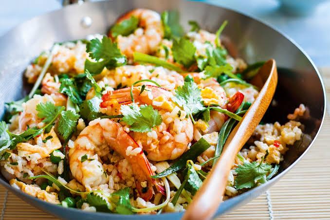 Special Prawn Fried Rice