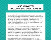 midwifery personal statement samples on behance ucas midwifery personal statement sample