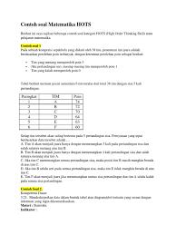 We did not find results for: Soal Hots Kelas 6 Matematika Sd Kunci Sukses