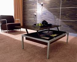 popular glass lift top coffee table