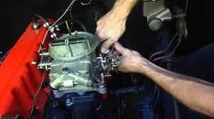 1968 Chevy C10 Inline 6-250 Holley 350 CFM 2-barrel Carburetor ...