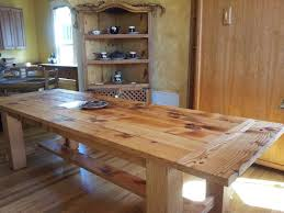Round Rustic Kitchen Table Kitchen Tables Wood Impressive Round Wood Kitchen Table And Chairs