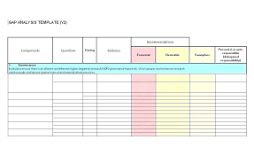 Competitor Analysis Template Xls Competitor Analysis Template Excel