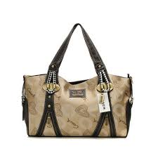 Coach Logo In Monogram Medium Khaki Totes DNR