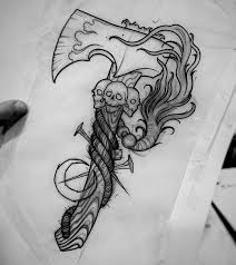 Tattooidea Tomahawk Tattootattooideas татуировки идеи и тату