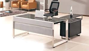 designer office table. Top Office Desks. Glass Desk Modern Table Design With Wooden Side Buy Nz Designer