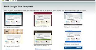 Google Site Templates Bnh Services Google Sites And Cloud Solutions Bnh