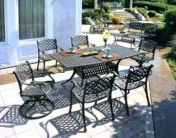 how to paint aluminum patio furniture painting garden cast alu
