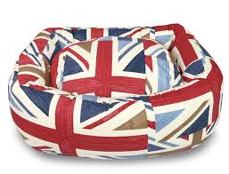 british flag furniture. Hugo \u0026 Hennie Luxury Donut Dog Beds Lavish Range Union Jack British Flag Furniture N