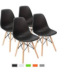 furmax pre embled modern style dining chair mid century white modern dsw chair s lounge