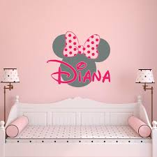minnie mouse wall decor