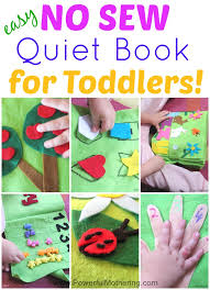 how to make a quiet book includes 11 inside pages all no sew for toddlers