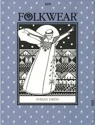 Folkwear Patterns Best Folkwear 48 Syrian Dress Folkwear Patterns Vogue Fabrics