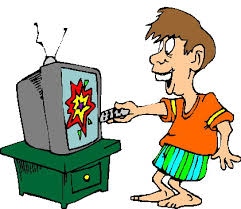 boy watching tv clipart. television clip art 11 boy watching tv clipart