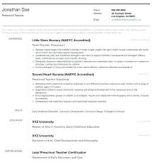 Cv Pattern Official Resume Template