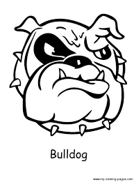Small Picture Bulldog Coloring Pages GetColoringPagescom