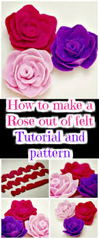 50 Easy Fabric Flowers Tutorial - Make Your Own Fabric Flowers