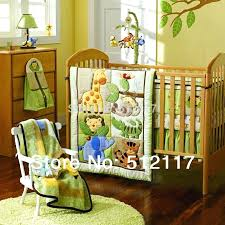 forest nursery bedding new embroidered forest animals boy baby cot crib bedding set 4 items includes forest nursery bedding