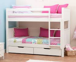 stompa classic bunk beds with drawers stompa classic bunk with drawers white large