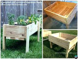 build a raised garden bed. Raised Garden Bed Plans Beds Amazing Ideas Elevated Instructions Free Cedar Logs Build A E
