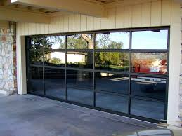 clear garage doors glass panel door full view contemporary melbourne