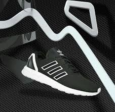 adidas shoes black and white. shoes adidas zx flux black white and