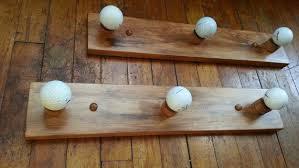 Golf Ball Coat Rack Best Golf Ball Coat Rack Set Of Two 32 Hook Racks By TheColorDoor Spoons