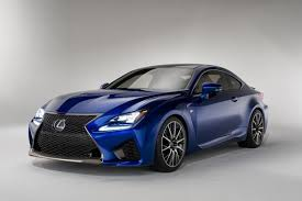 Wide Grilled Sporty Sedans Lexus Rc F Coupe