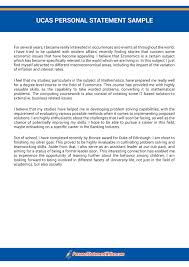 Personal Statement Template Ucas Ucas Personal Statement Checklist To Have