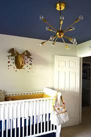 statement nursery lighting