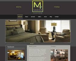 Decor  Simple Interior Decorators Websites Home Design Ideas Room Designer Website