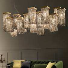 large italian smoky swarovski crystal brass contemporary chandelier