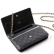 Image result for chanel wallet on a chain