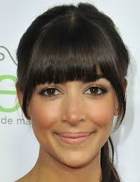 day to evening eyeliner on hannah simone