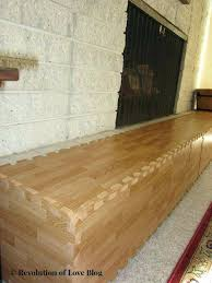 fireplace edge guard baby baby proof your fireplace area with soft interlocking floor tile this example