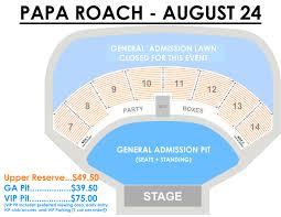 48 Explanatory Seating Chart For Verizon Wireless Amphitheater