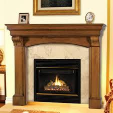 pearl modern fireplace mantels