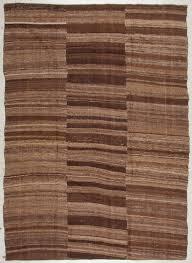 vintage kurdish flatwoven rug turkey 6 3 x 8 11