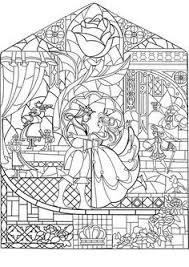 Stained Glass Coloring Pages For Adults 7sl6 Image Result For Disney