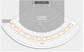 Pnc Music Pavilion Seating Chart Interactive Map