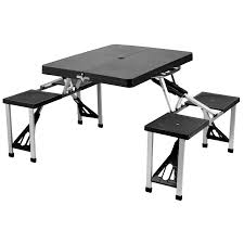 Camping Folding Table And Chairs Set Folding Picnic Table Compact Folding Picnic Table Plans Outdoor