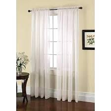 smith crushed voile window panel jaclyn love curtains blush