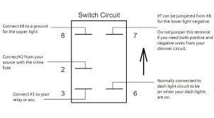 aux battery rocker switch arb carling narva dual blue led backlit arb dual compressor wiring at Arb Compressor Switch Wiring Diagram