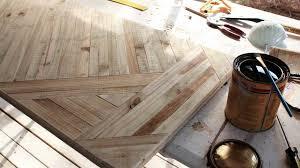 diy tutorial antiquing wood. entryway table top from fence panels diy tutorial antiquing wood f