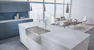 blanco precision durinox stainless steel farmhouse sink