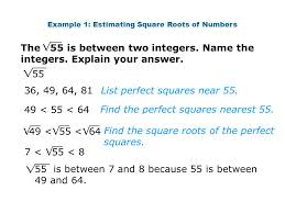 Estimating Square Roots Worksheet - Checks Worksheet