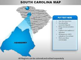 Usa Map For Powerpoint Usa South Carolina State Powerpoint Maps Powerpoint