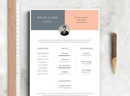 Resume Template With Photo Best Free Resume Templates on Behance 63