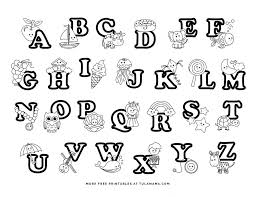 Learning the alphabet is fun when it's paired with coloring. Fun And Easy To Print Abc Coloring Pages For Preschoolers Kindergartners Tulamama
